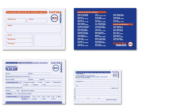 Formulários de Preenchimento