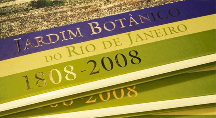 Detalhe livro Jardim Botânico