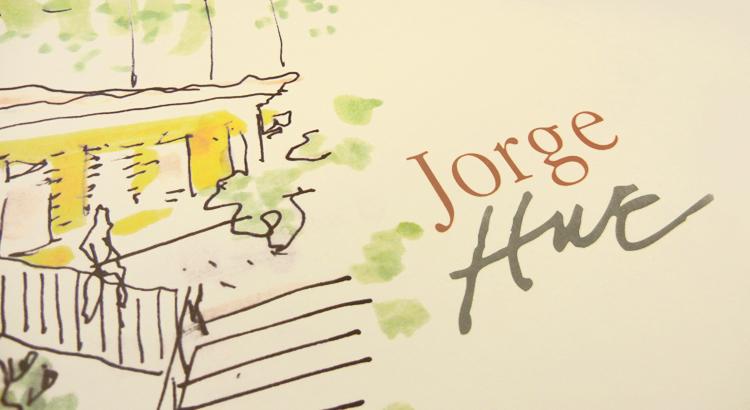 Detalhe Livro Jorge Hue