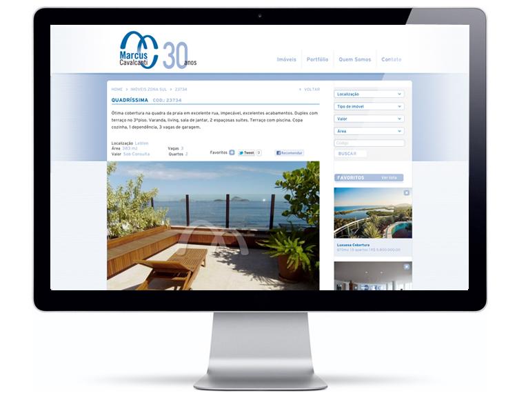 Website Marcus Cavalcanti