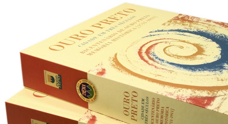 Detalhe livro Ouro Preto Cidade em Três Séculos