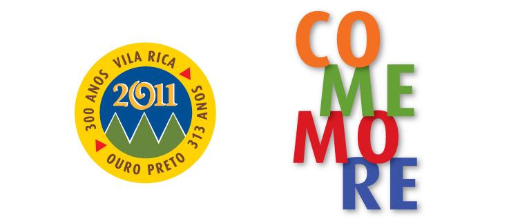 Marca Comemorativa 300 Anos Ouro Preto