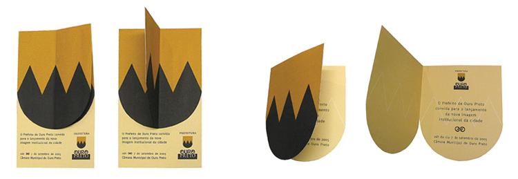 Convites Ouro Preto