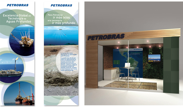 Stand Petrobras Internacional