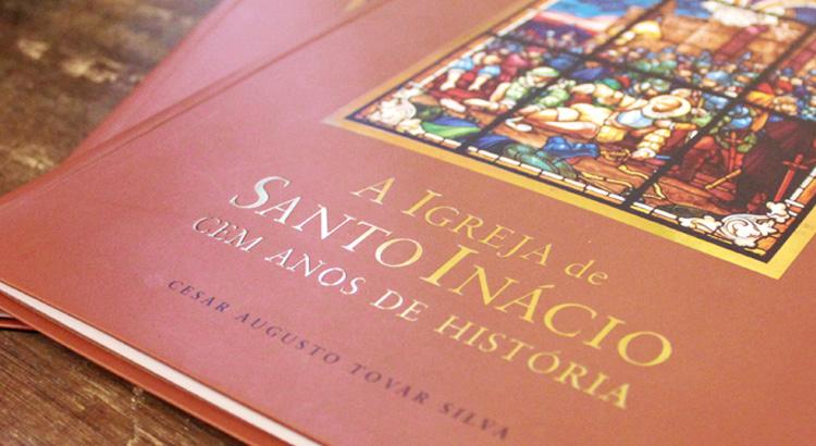 Livro a Igreja de Santo Inácio