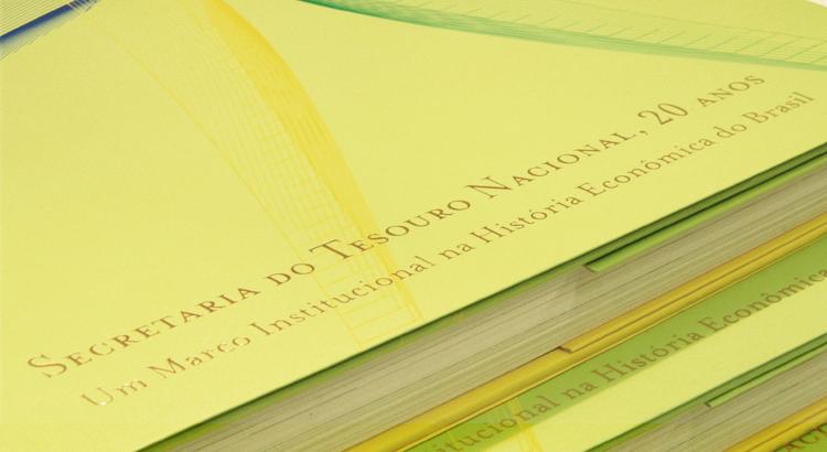 Detalhe livro Tesouro Nacional
