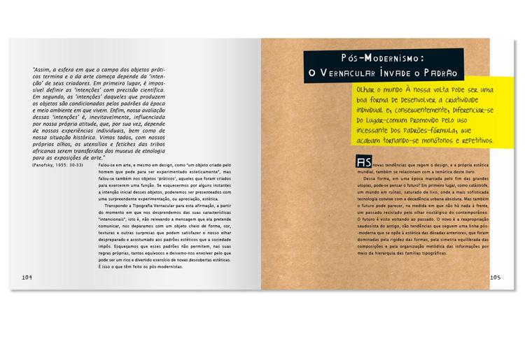 Livro Tipografia Vernacular